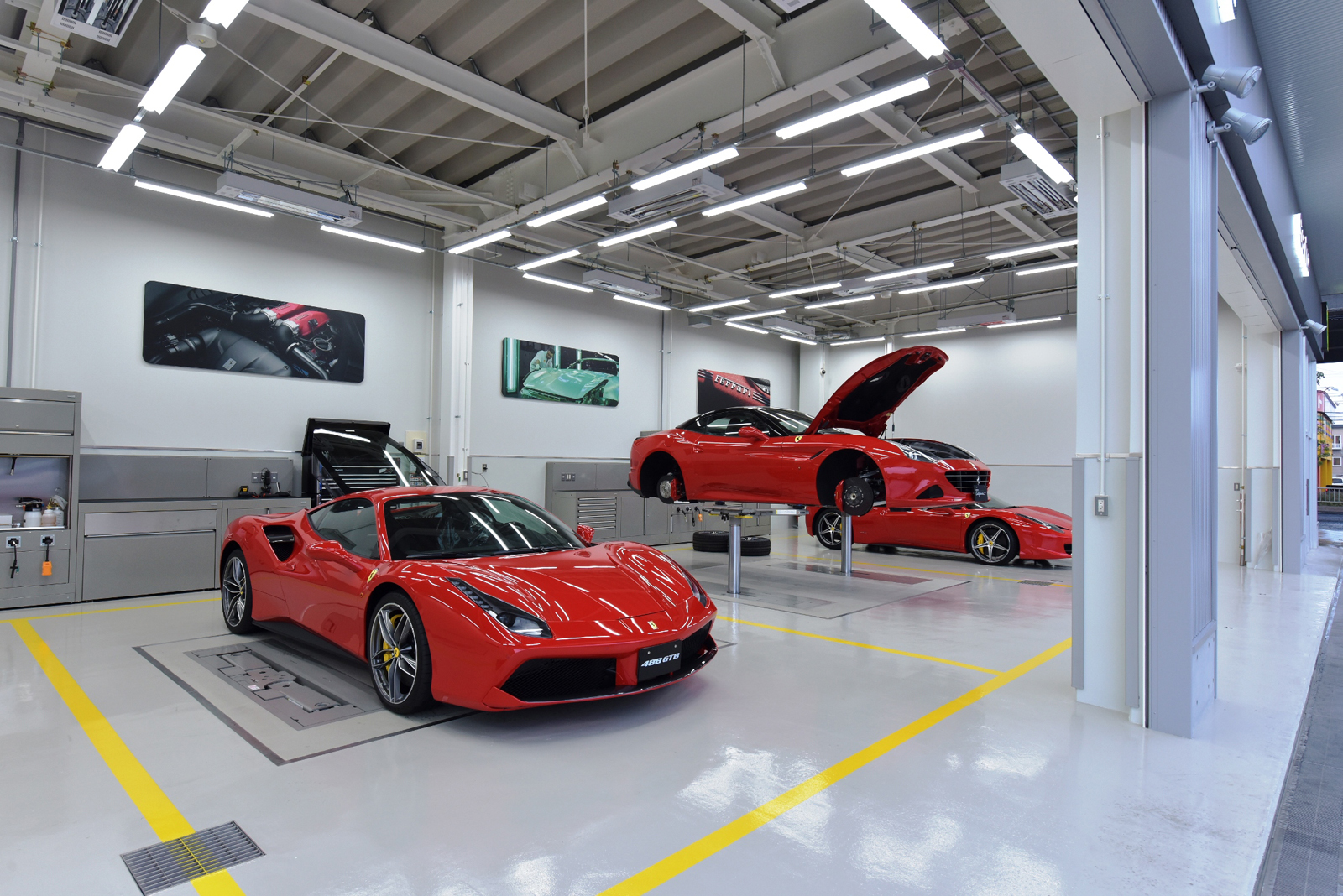 ferrari doubles down on japanese market with two new dealerships. Black Bedroom Furniture Sets. Home Design Ideas