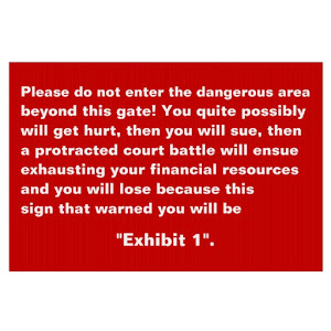 Do Not Enter | Funny but Effective Yard Sign