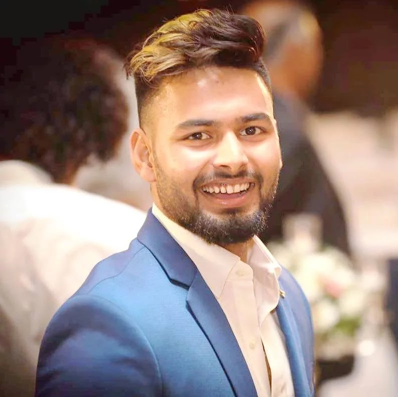 Rishabh Pant finished his innings with 78 off only 27 balls