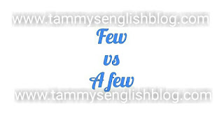 "What is the difference between ""few"" and ""a few""? Find out"