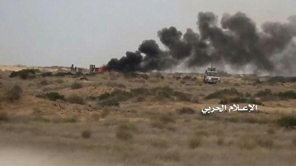 القوات اليمنية تصدّ هجوماً كبيراً في حرض وتقصف مطار نجران بصواريخ بالستية
