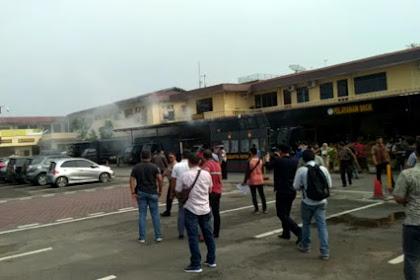Insiden Ledakan Bom Bunuh diri di Polrestabes Medan