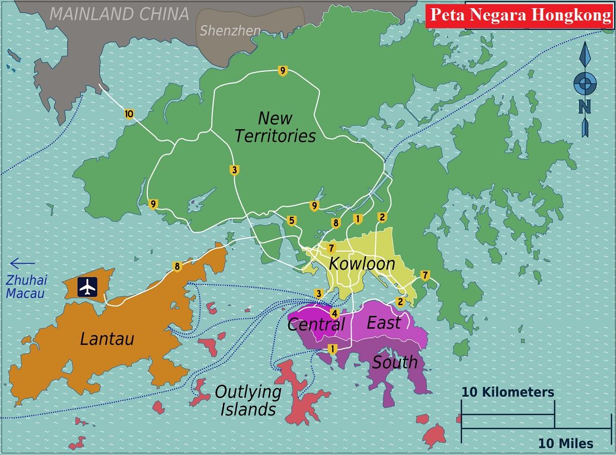 Peta Hongkong Lengkap