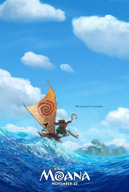 Poster Moana 2016 Full Movie Download Dual Audio 720p
