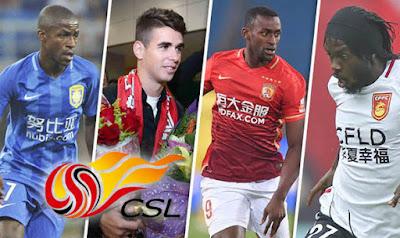 Daftar Pemain Sepakbola Internasional Liga Cina