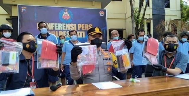 Polres Pati Tangkap 15 Botoh Penjudi Pilkades di Lima Kecamatan