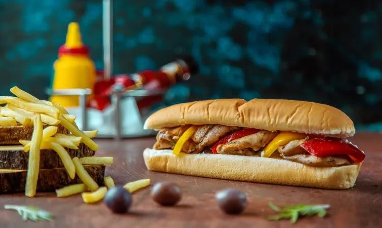 Shish Tawook Sandwich