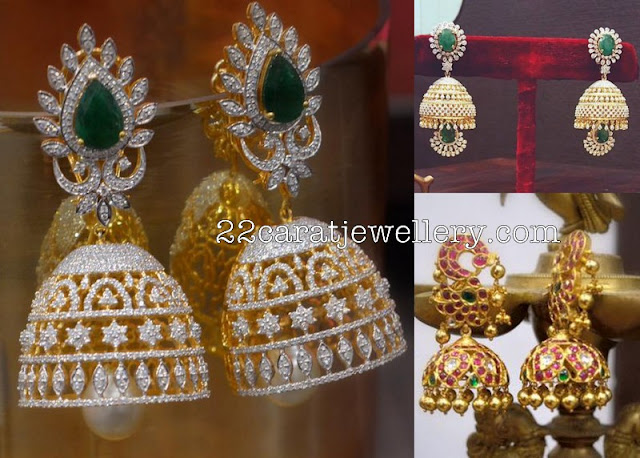 Pretty Jhumkas by Parnicaa Reddy
