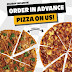 Get a FREE pizza with advance holiday orders from Yellow Cab