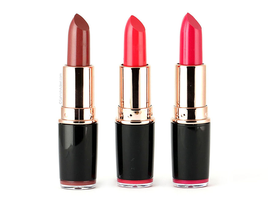 Revolution Iconic Pro Lipsticks by Makeup Revolution - Review & Swatches