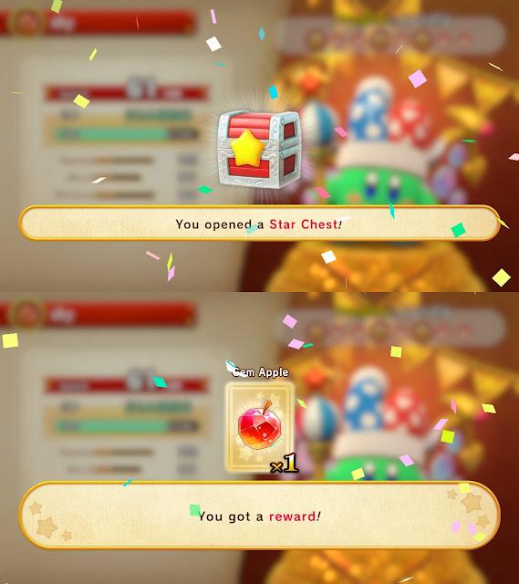 Super Kirby Clash opening Star Chest reward