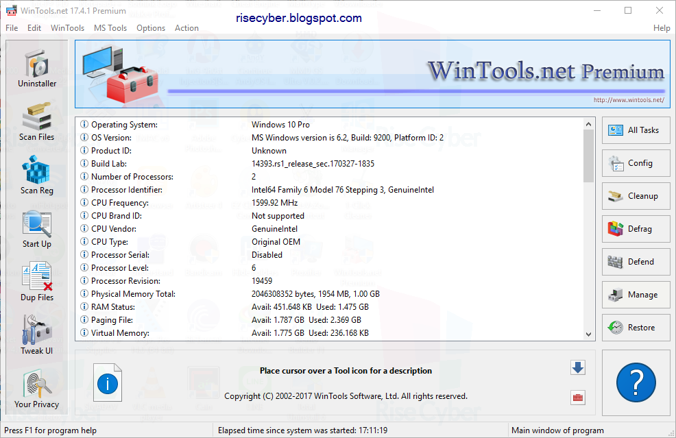 WinTools.net Premium 17.4.1 Grais Full Version - Rise Cyber