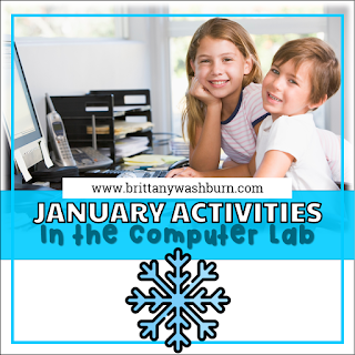 January Activities for the Computer Lab