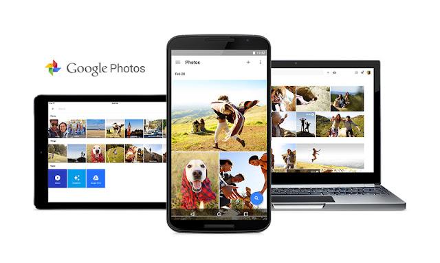 Banner di Google Foto