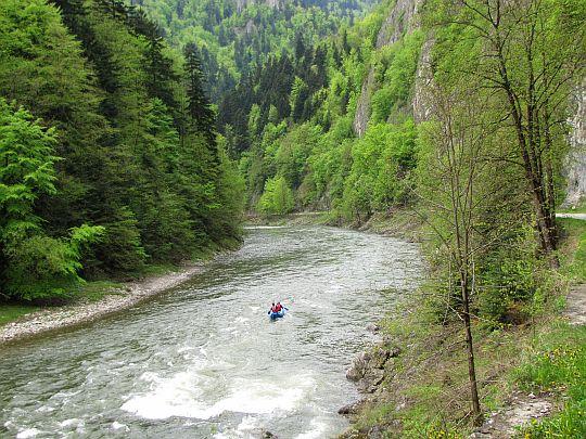 Dunajec pod Siedmioma Mnichami.