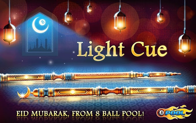 8 Ball Pool Light Cue Reward For All Grab It Now