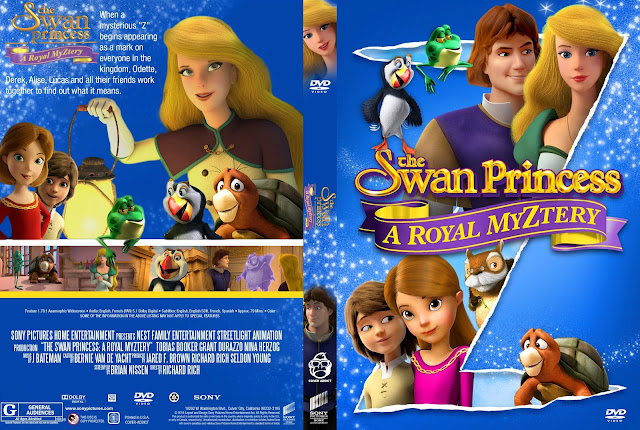The Swan Princess: A Royal Myztery DVD Cover