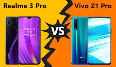 Perbandingan Realme 3 Pro dan Vivo z1 pro