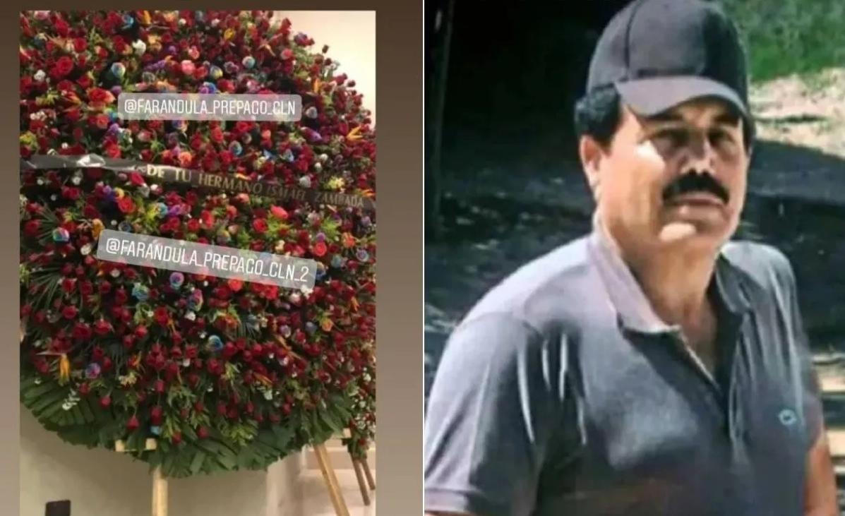 Reportan muerte de Águeda Zambada García hermana de Ismael el Mayo Zambada quien mando enormes y costosos arreglos de rosas a su velorio