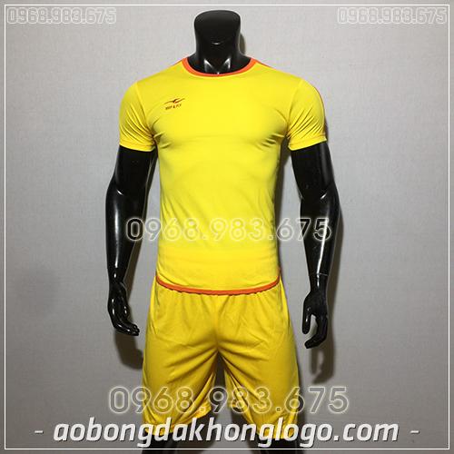 Áo bóng đá ko logo KeepFly Zuka màu vàng