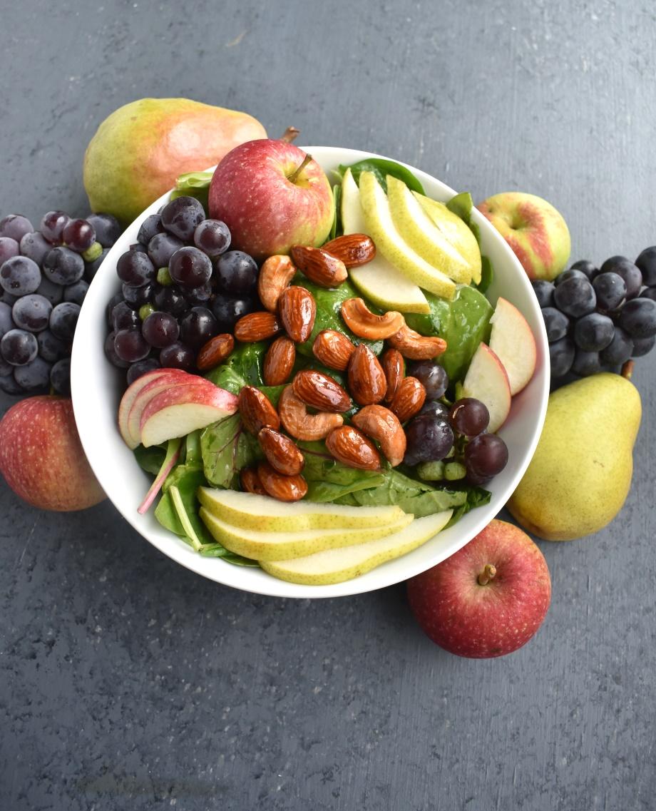 Fall Salad with Cider Vinaigrette