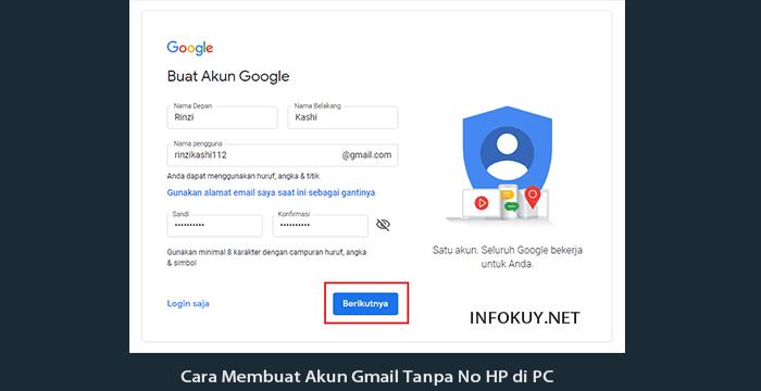 Temukan Cara Membuat Akun Gmail Unlimited Terbaru