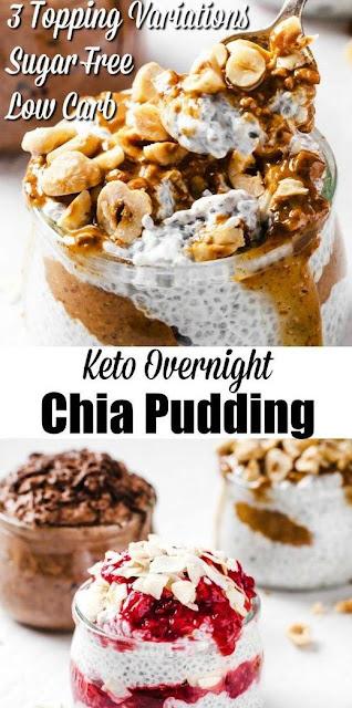 Creamy Keto Chia Pudding - 3 Variations