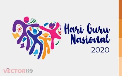 Hari Guru Nasional (HGN) 2020 Kemdikbud Logo - Download Vector File AI (Adobe Illustrator)