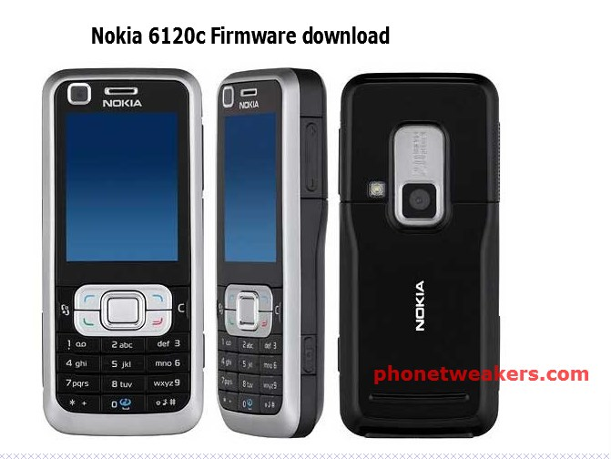 Nokia 6120c RM-243 Firmware/ Flash File Free Download