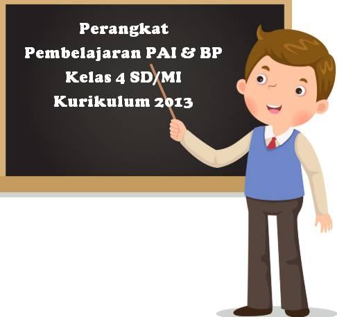 Prota Promes Silabus RPP PAI Kelas 4 SD Kurikulum 2013 Revisi