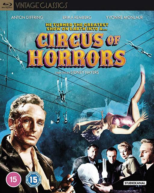 circus of horrors bluray