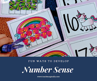 Teach magically number sense