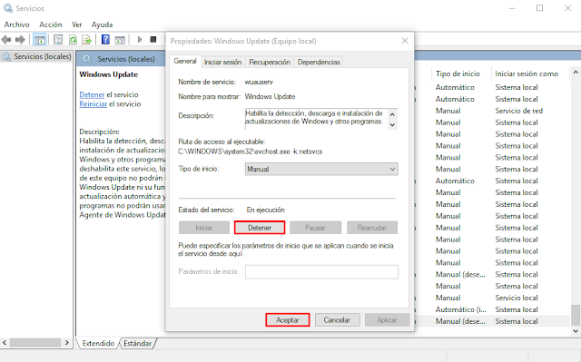 Como Limpiar el Historial de Windows Update en Windows 10