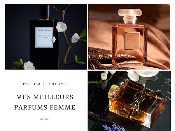 TOP 10 | MES MEILLEURS PARFUMS FEMME 2020
