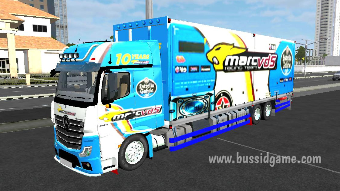 Mod Bussid Truck Angsa Putih Mod Truck Mercedes Benz New Actros