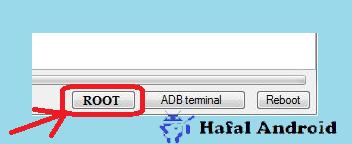 Tekan Root di MTKDroidtools untuk beri Shell Acces