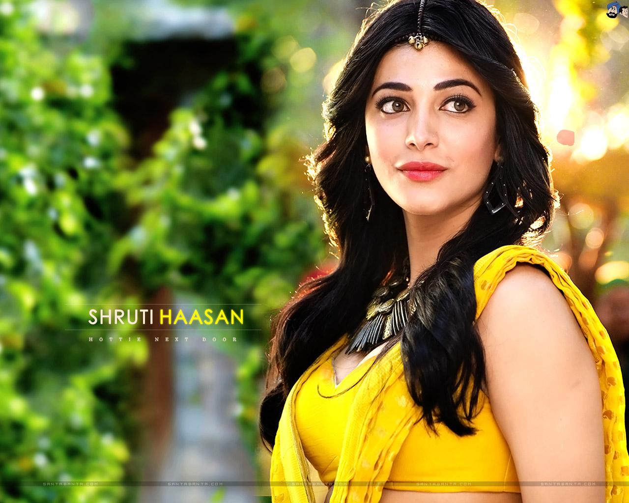 Free Download Cute Girl Wallpaper Shruti Haasan Hd Wallpapers Most Beautiful Places In The