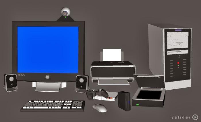 Fantastic Ulis du collège Anatole France: L'ordinateur et ses périphériques MI03