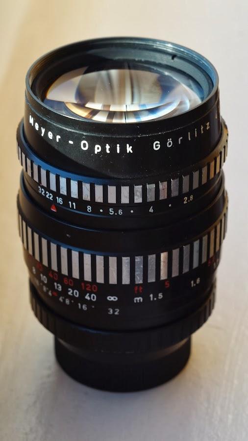 Meyer-Optik Görlitz Orestor 135 mm f/ 2.8 Zebra