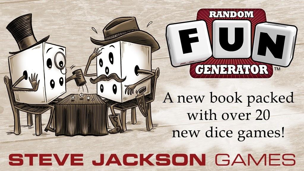 Gaming With The Gnomies Kickstarter Random Fun Generator By Steve Jackson Games