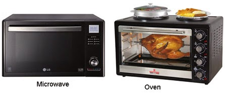 Microwave and Oven