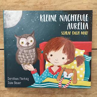 Kinderbuch Kleine Nachteule Aurelia vom Glückschuh Verlag