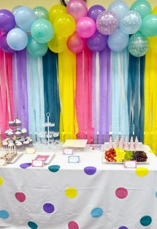 13 Ideas De Decoracion Con Globos Para Baby Shower Baby Shower - Decoracion-para-baby-shower