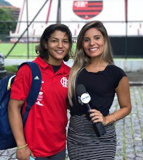 Sarah Menezes e Pryscilla Borges  Crédito: Divulgação/SBT