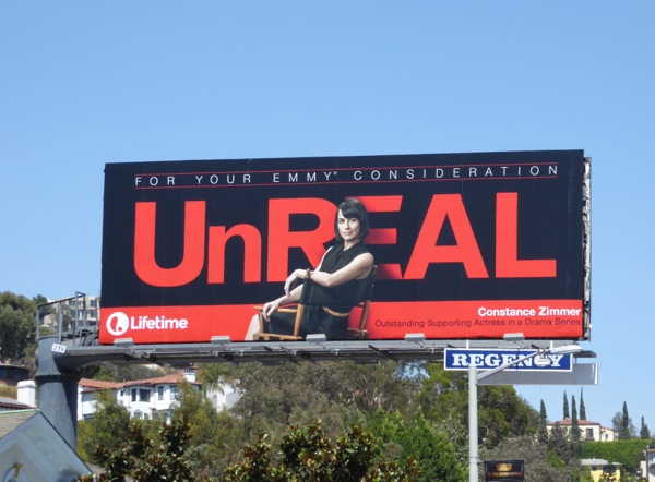 Constance Zimmer UnREAL 2016 Emmy nomination billboard