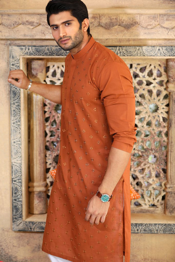 kurta designs 2019 brown