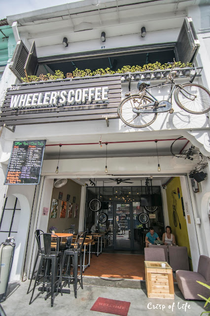 Wheeler's Coffee @ Love Lane, Penang