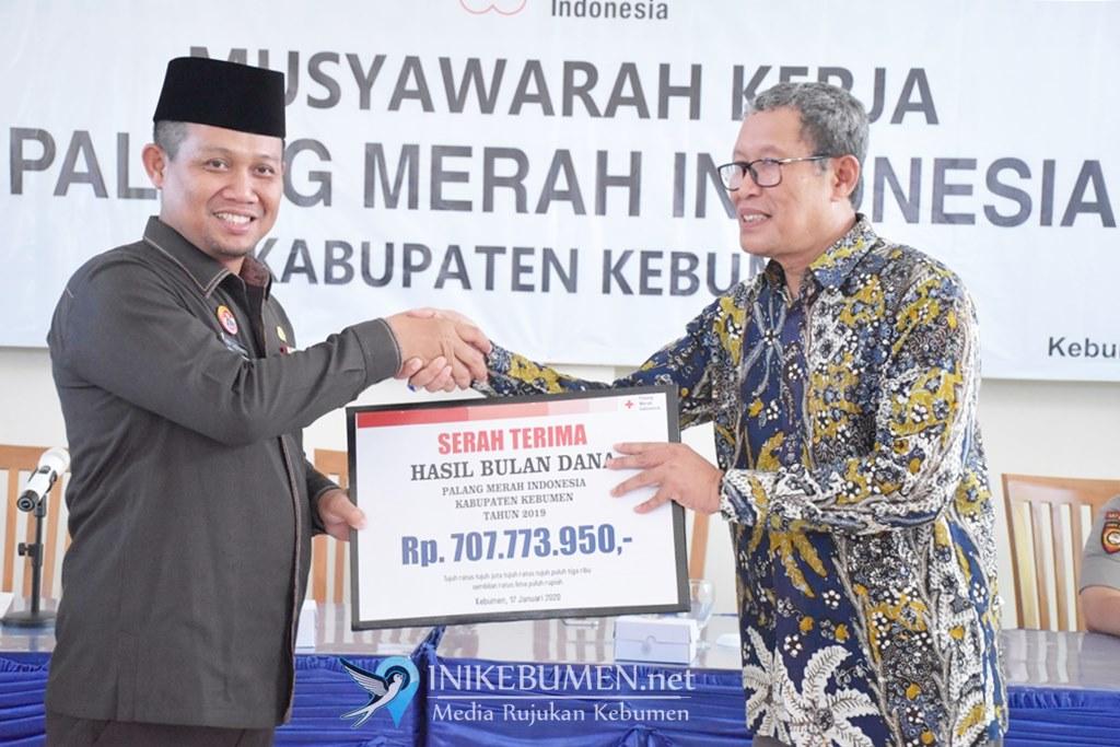 Berhasil Himpun Rp 707,7 Juta, Pendapatan Bulan Dana PMI Kebumen 2019 Turun Rp 60 Juta