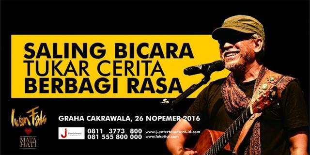 Konser Mata Hati Iwan Fals Malang 26 November