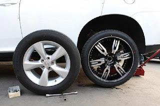 Bahaya ban tipis pada mobil